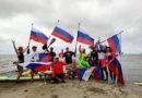 SUP-экшн в честь Дня Российского флага!